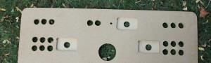 Fabrication du panneau de commande («Control Panel»)