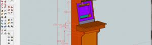 Dimensions et plans de borne d'arcade